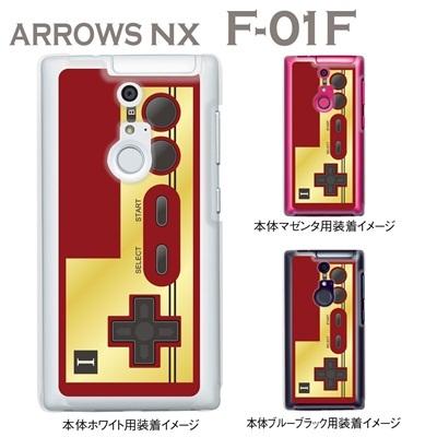 【ARROWS NX F-01F】【ケース】【カバー】【スマホケース】【クリアケース】【クリアーアーツ】【Clear Arts】【懐かしのコントローラ】 08-f01f-ca0076の画像