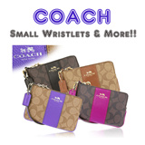 [The 5th Ave] ★•• COACH ••★ Men/Women°s ID Cases and Small Wristlets ★100% Authentic Brand Items★FREE Shipping and FREE Coach Gift Boxes from USA★
