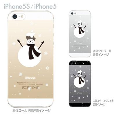 【iPhone5S】【iPhone5】【Clear Arts】【iPhone5sケース】【iPhone5ケース】【カバー】【スマホケース】【クリアケース】【クリアーアーツ】【雪ダルマ】 08-ip5s-ca0103の画像