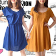 CLEARANCE SALE BRANDED CASUAL DRESS__Comfortable Material