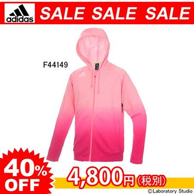 アディダス (adidas) freefootball スウェットフードジャケット WD334 [分類:サッカー トレーニングジャケット] 送料無料の画像