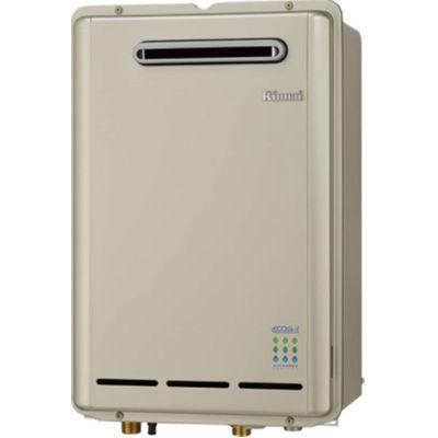 リンナイecoジョーズ16号屋外壁掛型ガス給湯器RUX-E1610W