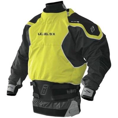 レベルシックス(LEVEL SIX) Reign 3 ply L/S Dry Bright Yellow/Charcoal L LS13A000000234 【カヌー カヤック ドライスーツ】の画像