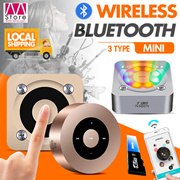 Mini Bluetooth Speaker / 360° Stereo / Touch Screen /APP Control / A9 / A8 / A5 / Compact and Portable / Subwoofer / Metal Material /1000 mAh Battery【M18】