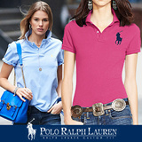 ☆ POLO RALPH LAUREN 6 colors Women Big Pony short sleeve