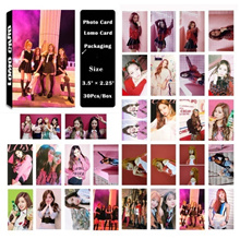 Fashion cute 30pcs /box KPOP BLACKPINK As If It s Your Last Photo Card Poster Lomo Card