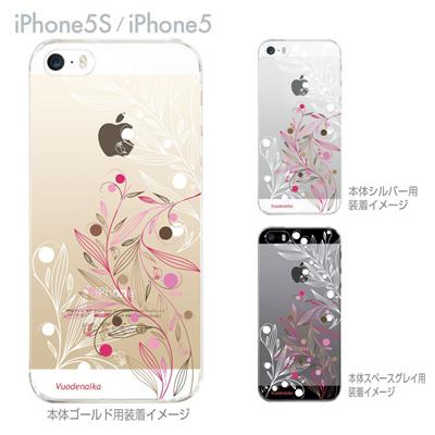 【iPhone5S】【iPhone5】【Vuodenaika】【iPhone5ケース】【カバー】【スマホケース】【クリアケース】【フラワー】 21-ip5s-ne0046の画像