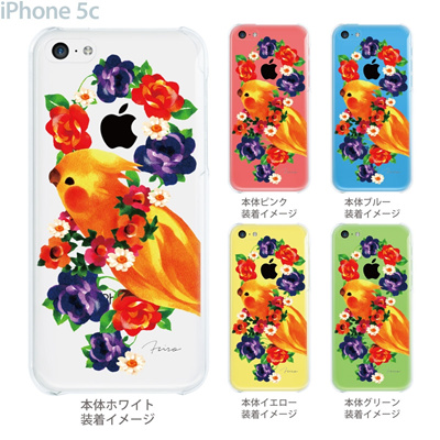 【iPhone5c】【iPhone5c ケース】【iPhone5c カバー】【ディズニー】【iPhone 5c ケース】【クリア カバー】【スマホケース】【クリアケース】【イラスト】【クリアーアーツ】【milkchai】【インコ】 30-ip5c-il0010の画像