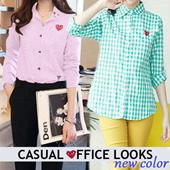 [NEW 09/04] Women Shirt - Women top - blouse - kemeja wanita - CASUAL OFFICE LOOK