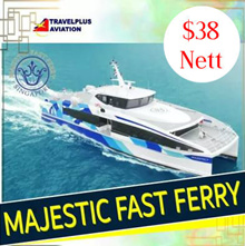ALL IN! TAX INCLUDED! ROUND TRIP FERRY TICKET FR SIN TO BATAM FOR (SEKUPANG/BATAM CENTER)