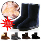 MM94 2015 HOT SALE! Winter snow boots / waterproof boots / tube / tube / low / boots / shoe leather boots