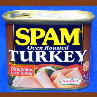 スパム ターキー 340g 1缶  SPAM TURKEY ランチョンミートの画像