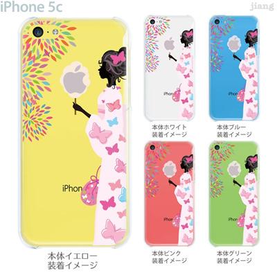 【iPhone5c】【iPhone5cケース】【iPhone5cカバー】【iPhone ケース】【クリア カバー】【スマホケース】【クリアケース】【イラスト】【フラワー】【わたがし】 22-ip5c-ca0114の画像