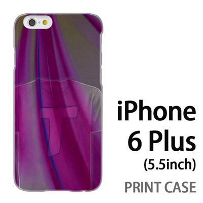iPhone6 Plus (5.5インチ) 用『No1 T 紫のTシャツ』特殊印刷ケース【 iphone6 plus iphone アイフォン アイフォン6 プラス au docomo softbank Apple ケース プリント カバー スマホケース スマホカバー 】の画像