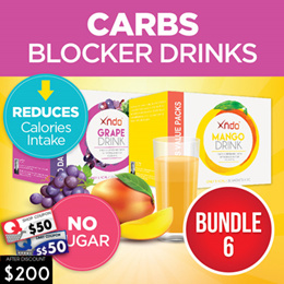 [1+1] 60 Days Supply Carbs Blocker Drinks