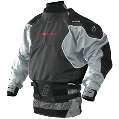 レベルシックス(LEVEL SIX) Reign 3 ply L/S Dry Charcoal/Tin S LS13A000000228 【カヌー カヤック ドライスーツ】の画像