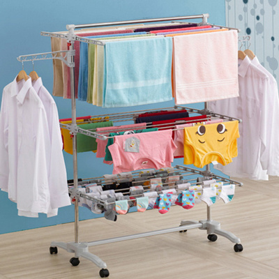 Buy Elin Made In Korea Laundry Drying Rack Hanger Clothes Dryer Folding Indoor Hanging Storage