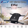 JJRC H37 2.4GHz 6-Axis ELFIE Foldable Mini RC Selfie Drone WiFI FPV HD Camera Mini RC Drone With 720P Camera Gyro Foldable Pocket Selfie Quadcopter G-sensor Helicopter WIFI FPV Drone With Adjustable