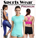 【SPTLOR】New Arrivals! sports wear yoga wear plaza dancing wear Yoga Bra/Gym running Wear/Capris/Shorts/Running Bra★Sports Wear★tank top / casual/ dri-fit / cropped pants