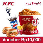 [Q-stempel Special] Only 20 Q-stempel ! KFC Gift Certificate RP10000
