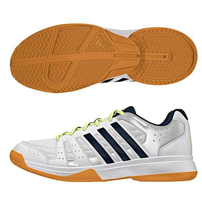 アディダス (adidas) レディース LIGRA 3 W(ランニングホワイト×ナイトネイビー×シルバーメット) B33040 [分類:バレーボール バレーボールシューズ] 送料無料の画像
