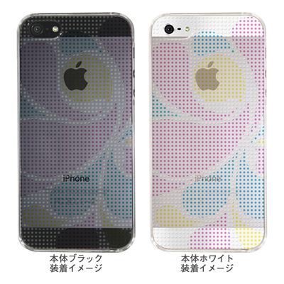 【iPhone5S】【iPhone5】【Clear Arts】【iPhone5Sケース】【iPhone5ケース】【ケース】【カバー】【スマホケース】【クリアケース】【チェック・ボーダー・ドット】【ドットレトロ】【カラー】 06-ip5-ca0051i-mの画像