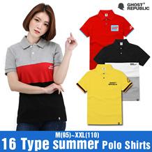 [GhostRepublic] Best Polo Shirt / ポロシャツ / プレミアムユニセックス・カジュアル / ポロ / Pique Shirt / PQ / PK