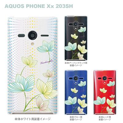 【AQUOS PHONEケース】【203SH】【Soft Bank】【カバー】【スマホケース】【クリアケース】【Vuodenaika】 21-203sh-ne0026caの画像