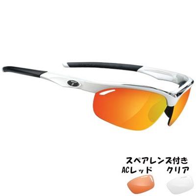 ティフォージ(Tifosi) ヴェローチェ ホワイト/ブラックTF1040104803 【自転車 サイクリング ランニング アイウェア サングラス】の画像