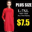 2016 NEW PLUS SIZE FASHION LADY DRESS OL work dress SLIM DRESS top chiffon short SET