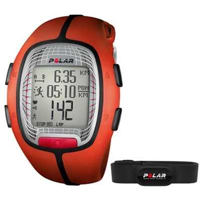 ポラール(Polar) RS300X オレンジ 90052059 【ランニングウォッチ 腕時計 ハートレート 心拍計 国内正規品】の画像