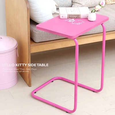 Qoo10 hello kitty end table side table furniture sofa for Table exterieur hello kitty