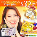 [LAST DAY!!! $4 CASH REBATE*+UPSIZE 70-CAPS] ♥FREE* 10-days MORE!!! ★HIGH DOSAGE 10-HDA ♥SG #1 BEST-SELLING ROYAL JELLY!! ★ ORGANIC-CERTIFIED ♥ Made In Australia