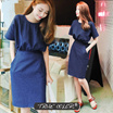 [TRUE COLOR]DENIM DRESS [Size: S-XL] /WOMEN-C-5