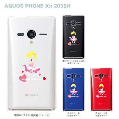 【AQUOS PHONEケース】【203SH】【Soft Bank】【カバー】【スマホケース】【クリアケース】【MOVIE PARODY】【ユニーク】【セックスシンボル】 10-203sh-ca0027の画像
