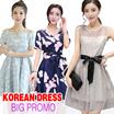 Korean dress/dresses/office/work dress/off shoulder /princess dress/summer dress/chiffon