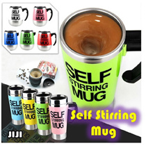◣2016 INNOVATIVE MUGS◥ ★NEWEST DESIGN★ SELF STIRRING MUG Coffee Cup★ British Bluw Automatic Mixing Cup* Office Essential Household Mug* Camera Lens Self Stir Mug* Self Stir Tumbler 500ML [JIJI]