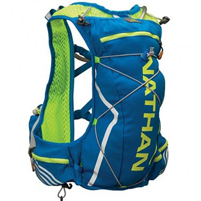 ネイサン(NATHAN) VaporCloud(11L) B11515000 S.YEL/E.BLUE L/XL 【トレイルランニング レースベスト バッグ かばん 超軽量】の画像
