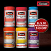 [PnG] 【CLEARANCE!】SWISSE MULTIVITAMINS - Australia No.1 Multivitamin - UP TO 90% OFF