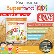 Superfood+ Kids [22 Mulitgrain+DHA Colostrum Milk Calcium] - Breakfast for Kids (BUY 3 FREE BESHARP)