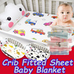 Crib Fitted Sheet /over 180 designs/26/08/17  Crib/Cot Fitted sheet/Fitted Cribsheet/Fitted bed shee