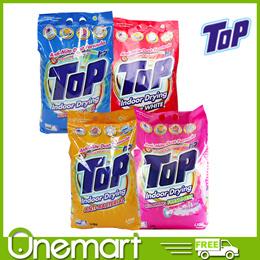 [TOP] Detergent  Powder Anti-Bacterial/Super Colour/Super White 5.5kg Blooming Freshness 5kg