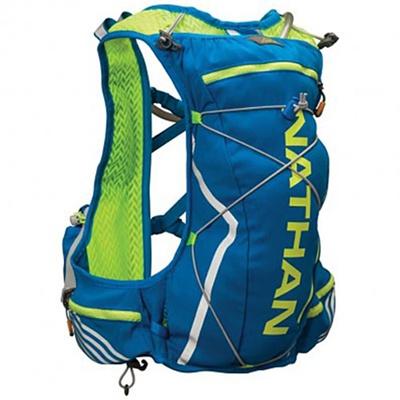 ネイサン(NATHAN) VaporCloud(11L) B61536000 S.YEL/E.BLUE S/M 【トレイルランニング レースベスト バッグ かばん 超軽量】の画像