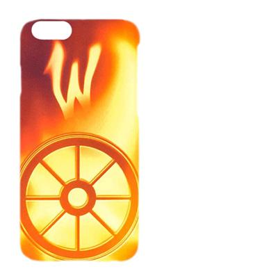 iPhone6 Plus (5.5インチ) 用『No1 W 光り輝くタイヤ』特殊印刷ケース【 iphone6 plus iphone アイフォン アイフォン6 プラス au docomo softbank Apple ケース プリント カバー スマホケース スマホカバー 】の画像