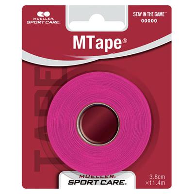 ミューラー (Mueller) Mテープ38mm チームカラー(ピンク) 430830 [分類:テーピング (非伸縮・粘着)]の画像