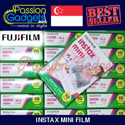 ?Cheapest? ? Instax mini Film For Mini 8 7s 25 50s 90 Cartoon Plain films Hello Kitty Polaroid Deals for only S$12 instead of S$0
