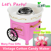 ★IMP HOUSE★[Cotton Candy Maker][Ready Stock][Birthday Gift] Vintage Carnival Cotton Candy Maker