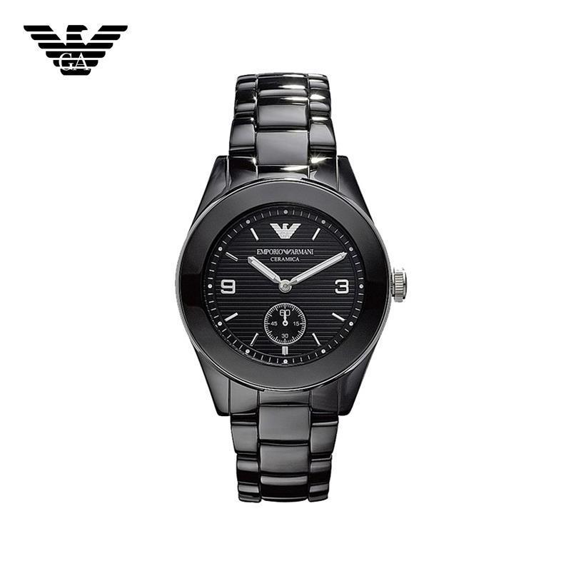 【クリックで詳細表示】EMPORIO ARMANI エンポリオ アルマーニ AR1422 腕時計 セラミック ユニセックス レディース 新品 超特価 時計 送料無料 正規輸入品
