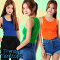 [Buy 3 Free Shipping] Trendy Colourful Tanktops||High quality Tank top||Premium quality tops