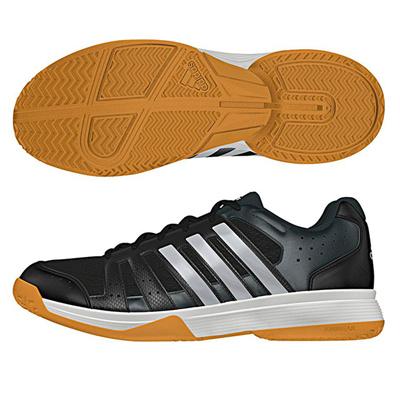 アディダス (adidas) LIGRA 3(コアブラック×シルバーメット×ダークグレー) B33042 [分類:バレーボール バレーボールシューズ] 送料無料の画像
